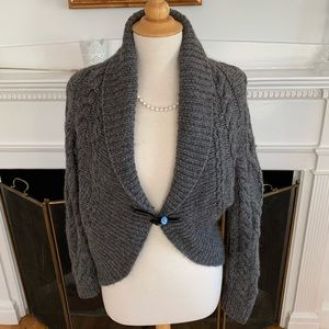 A PEA IN THE POD soft gorgeous toggle cardigan
